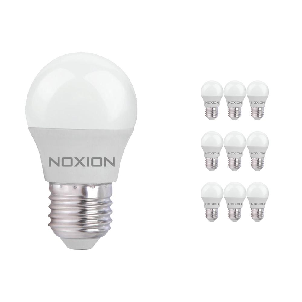 Voordeelpak 10x Noxion Lucent LED Classic Lustre 5W 827 P45 E27 | Zeer Warm Wit - Vervangt 40W