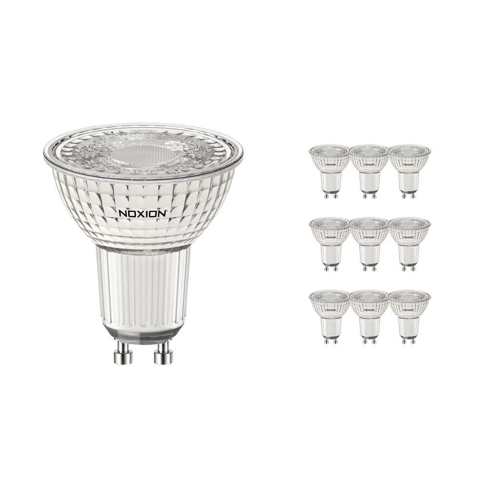 Voordeelpak 10x Noxion LED Spot PerfectColor GU10 5.5W 940 60D 480lm | Dimbaar - Koel Wit - Vervangt 50W