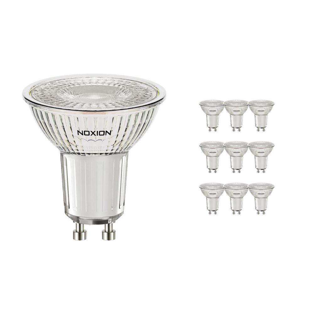 Voordeelpak 10x Noxion LED Spot GU10 3.2W 830 36D 310lm | Dimbaar - Warm Wit - Vervangt 35W