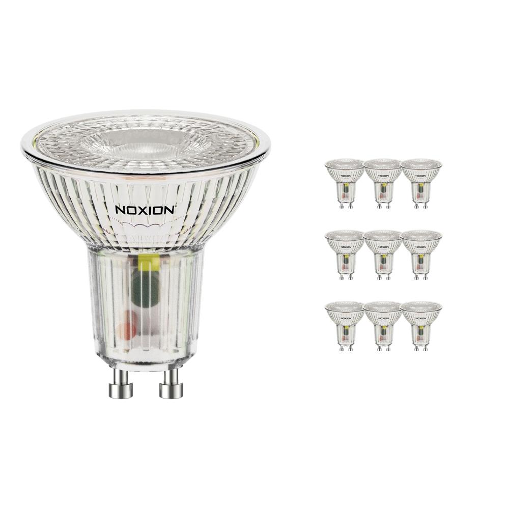 Voordeelpak 10x Noxion LED Spot GU10 4W 827 36D 390lm | Zeer Warm Wit - Vervangt 50W