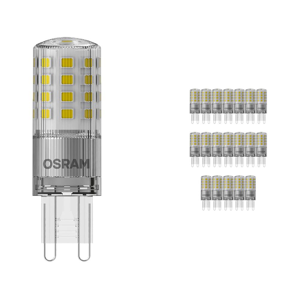 Voordeelpak 20x Osram Parathom LED PIN G9 4.2W 827 | Dimbaar - Zeer Warm Wit - Vervangt 40W