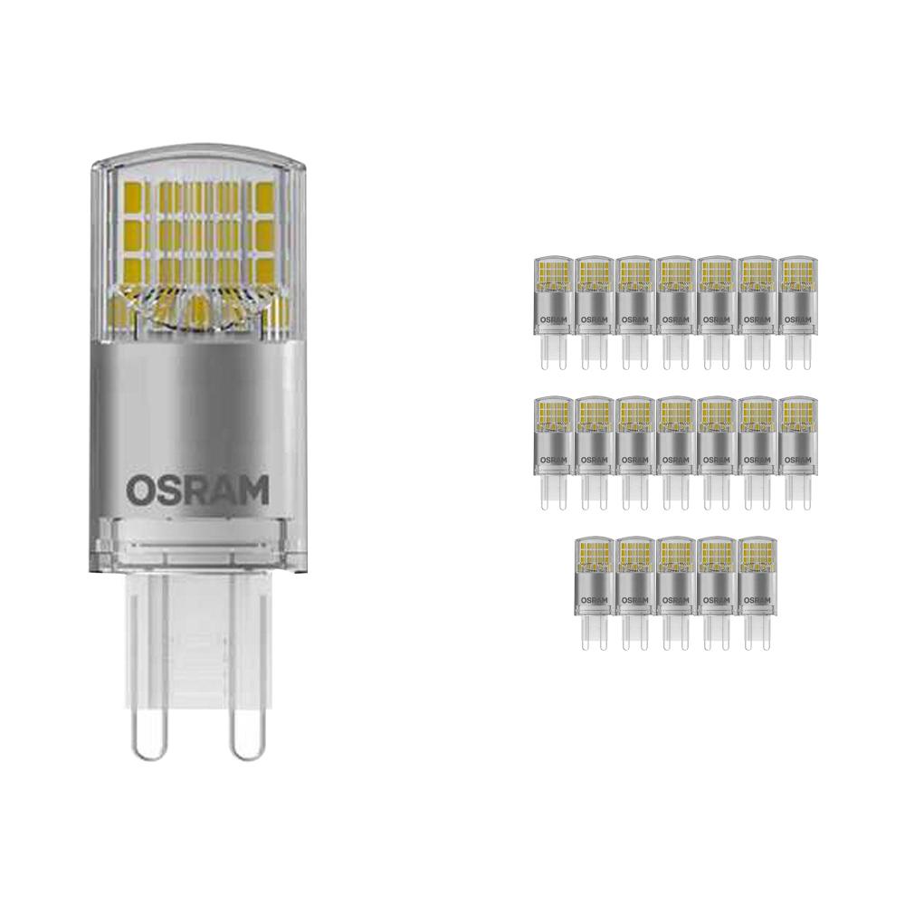 Voordeelpak 20x Osram Parathom Advanced Pin G9 3.5W 827 Helder | Dimbaar - Vervangt 32W