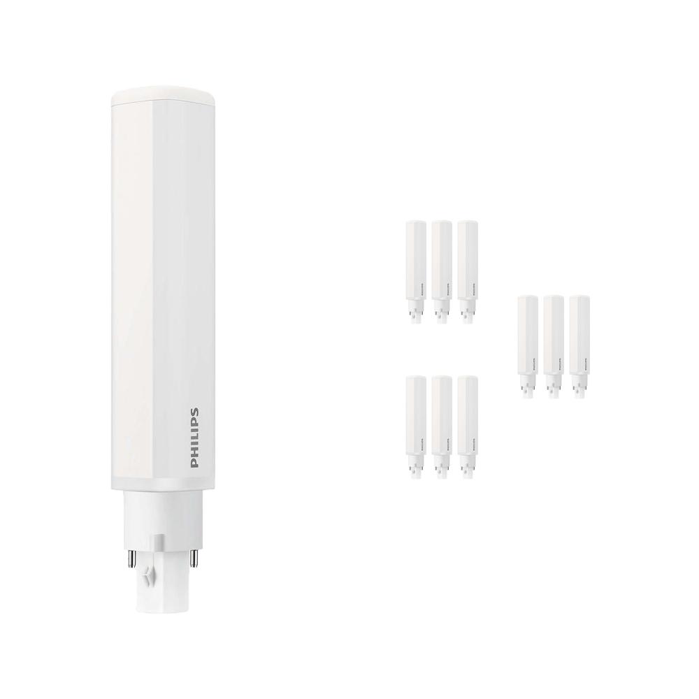 Voordeelpak 10x Philips CorePro PL-C LED 8.5W 840 | Koel Wit - 2-Pin - Vervangt 26W