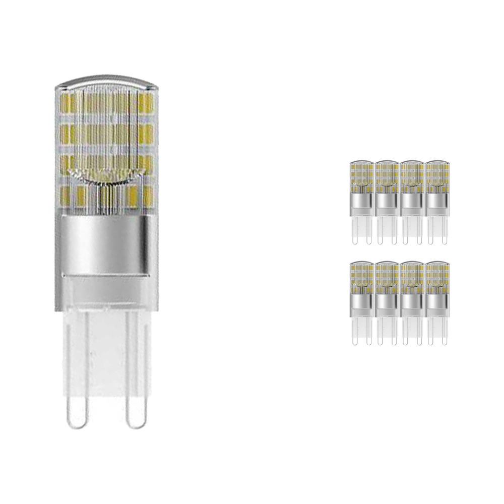 Multipack 9x Osram Parathom Pin G9 1.9W 827 Clear | Replaces 20W