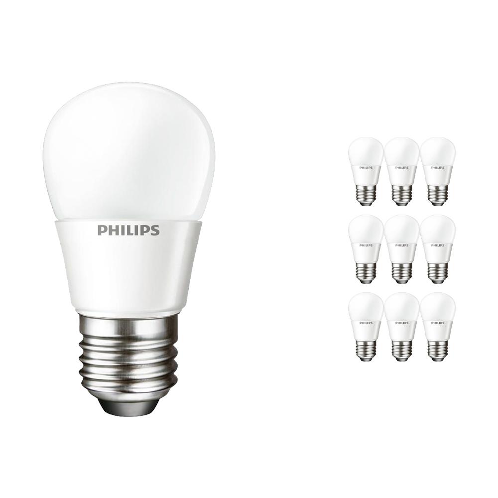 Voordeelpak 10x Philips CorePro LEDluster E27 P45 4W 827 Matt | Vervangt 25W