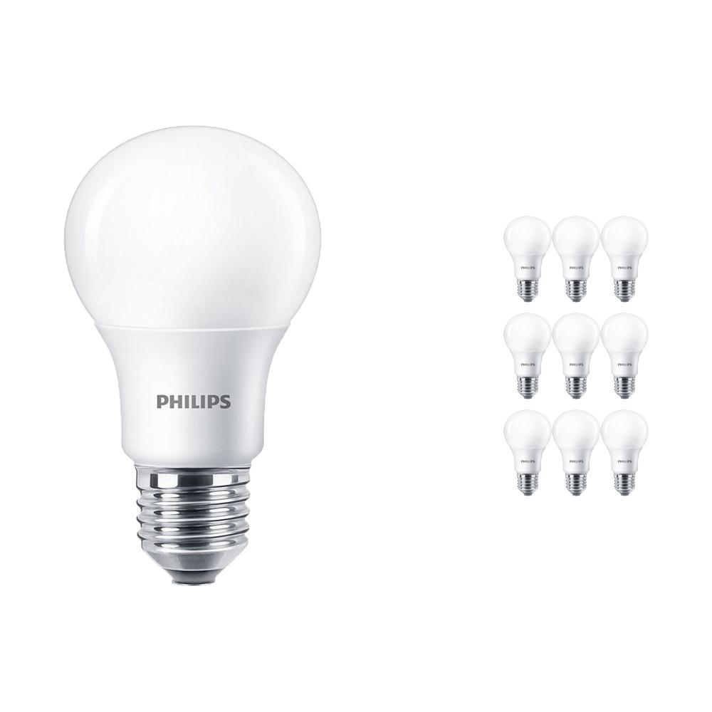 Voordeelpak 10x Philips LEDbulb E27 A60 5.5W 927 Mat (MASTER) | DimTone Dimbaar - Vervangt 40W