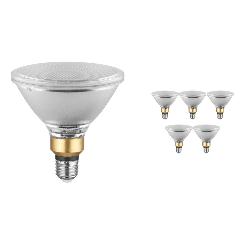 Voordeelpak 6x Osram Parathom E27 PAR38 12.5W 827 30D | Dimbaar - Zeer Warm Wit - Vervangt 120W