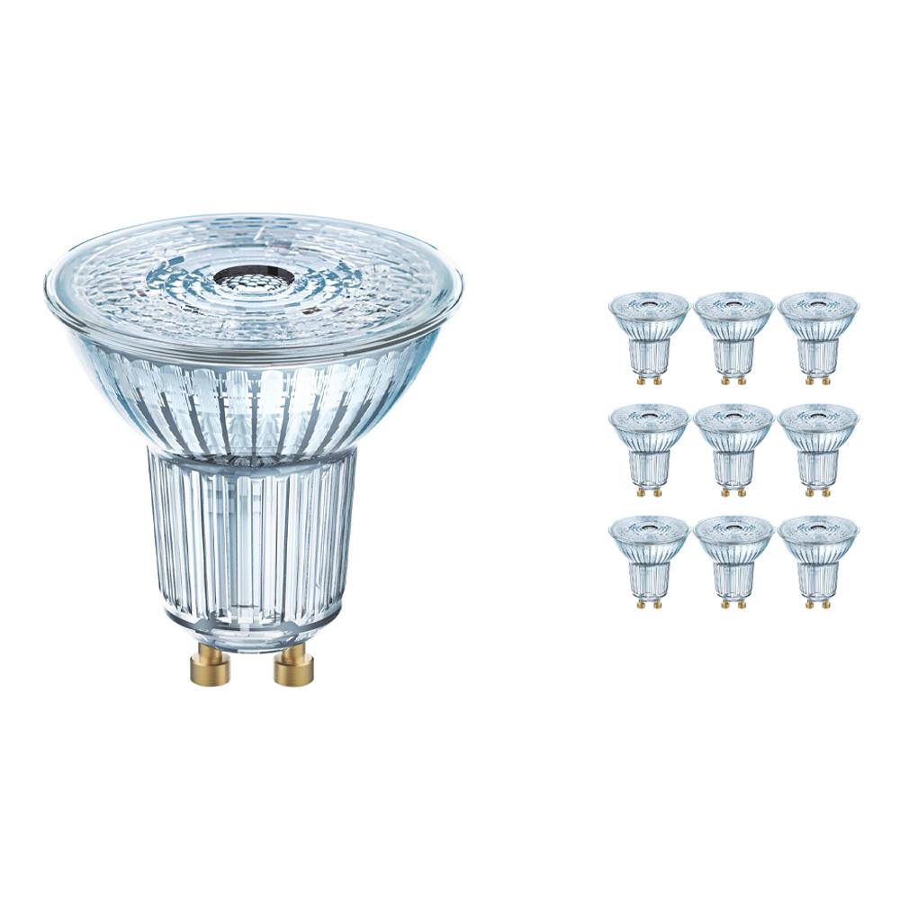 Voordeelpak 10x Osram Parathom GU10 PAR16 2.6W 830 36D | Warm Wit - Vervangt 35W