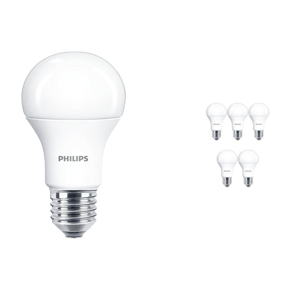 Voordeelpak 6x Philps CorePro LEDbulb E27 A60 10.5W 927 Mat | Zeer Warm Wit - Vervangt 75W