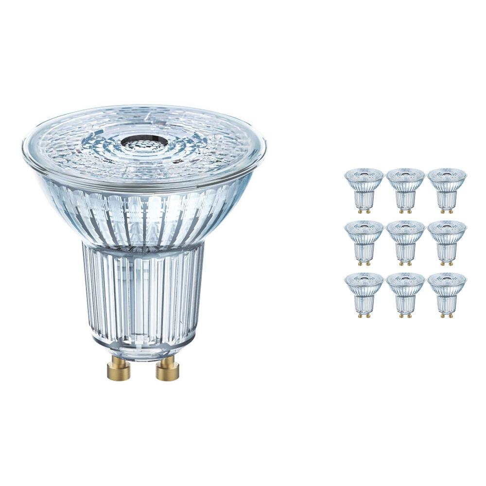Voordeelpak 10x Osram Parathom GU10 PAR16 4.3W 830 36D | Warm Wit - Vervangt 50W
