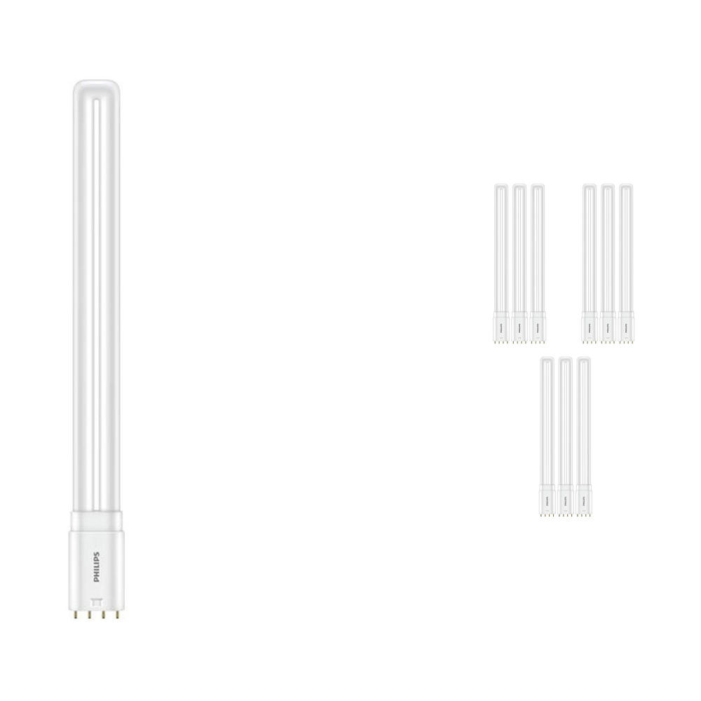 Voordeelpak 10x Philips CorePro PL-L HF LED 16.5W 865 | Daglicht - 4-Pin - Vervangt 36W