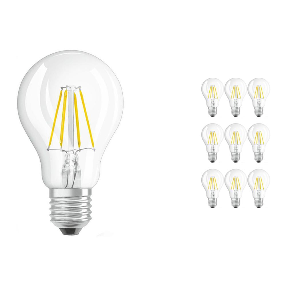 Voordeelpak 10x Osram Parathom Retrofit Klassiek E27 A 7W 827 Filament | Vervangt 60W