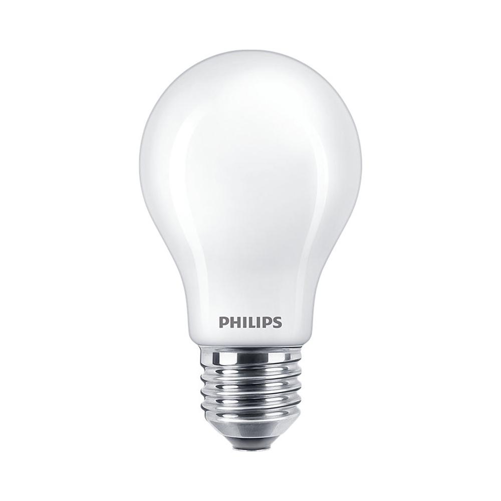 Philips Classic LEDbulb E27 A60 8.5W 830 | Warm Wit - Vervangt 75W