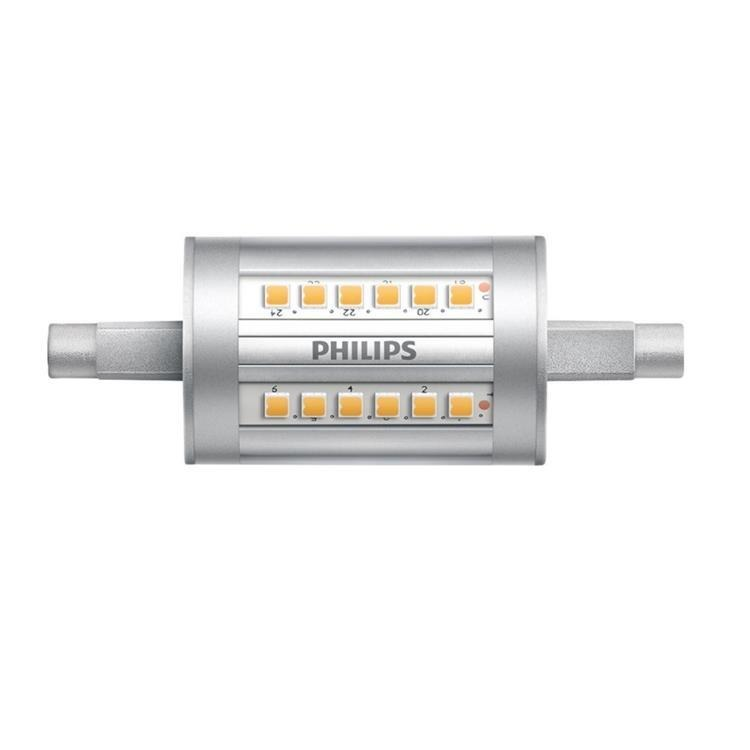 Philips CorePro LEDlinear R7s 7.5W 840 78mm | Vervangt 60W