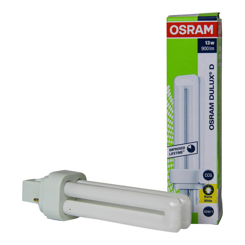 Osram Dulux D 13W 830   Warm Wit - 2-Pin