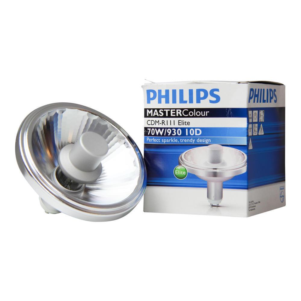 Philips MASTERColour CDM-R111 Elite 70W 930 GX8.5 10D | Warm Wit - Beste Kleurweergave