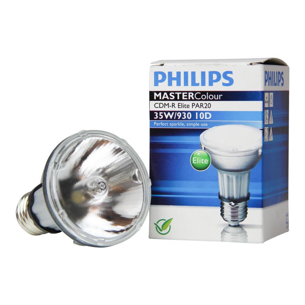 Philips MASTERColour CDM-R Elite 35W 930 E27 PAR20 10D | Warm Wit - Beste Kleurweergave