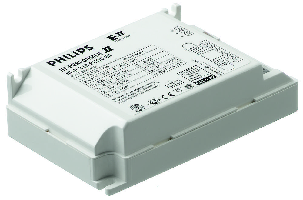 Philips HF-P 1 22-42 PL-T/C/L/TL5C II 220-240V for 1x22-42W