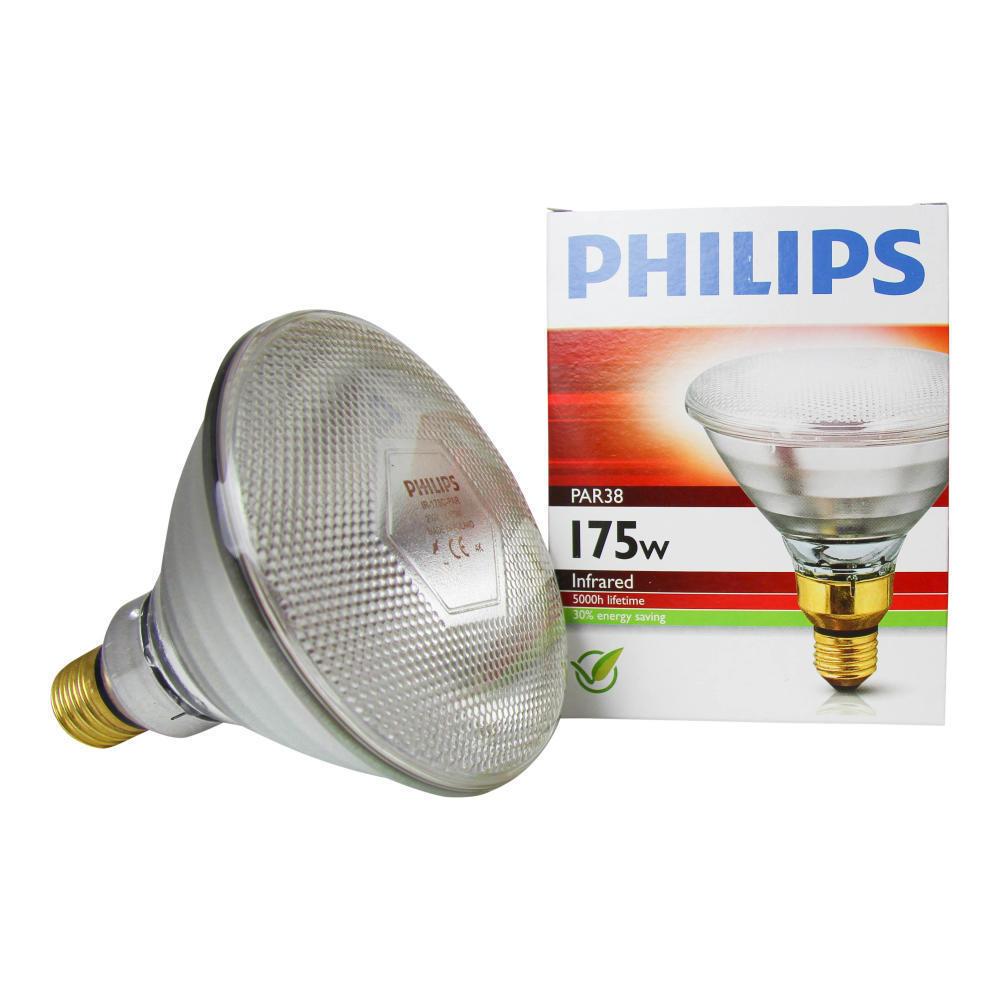 Philips PAR38 IR 175W E27 230V Helder