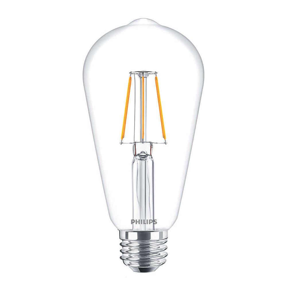 Philips Classic LEDbulb E27 Edison 4W 827 Helder | Vervangt 40W