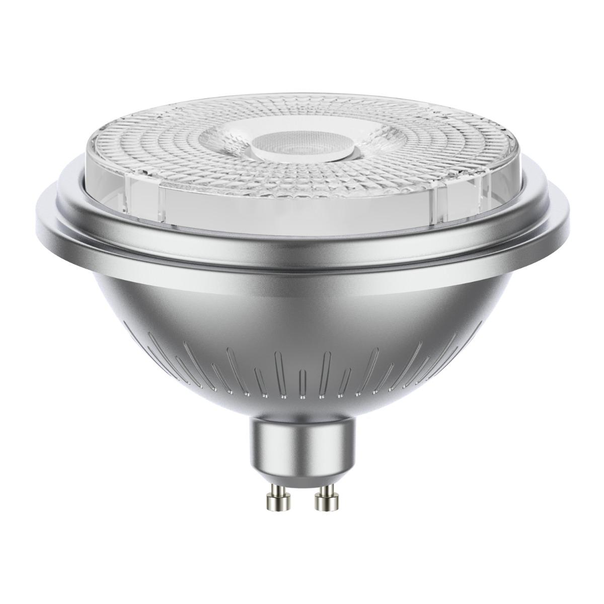 Noxion LEDspot AR111 GU10 7.5W 927 40D 530lm | Dimbaar - Zeer Warm Wit - Vervangt 50W
