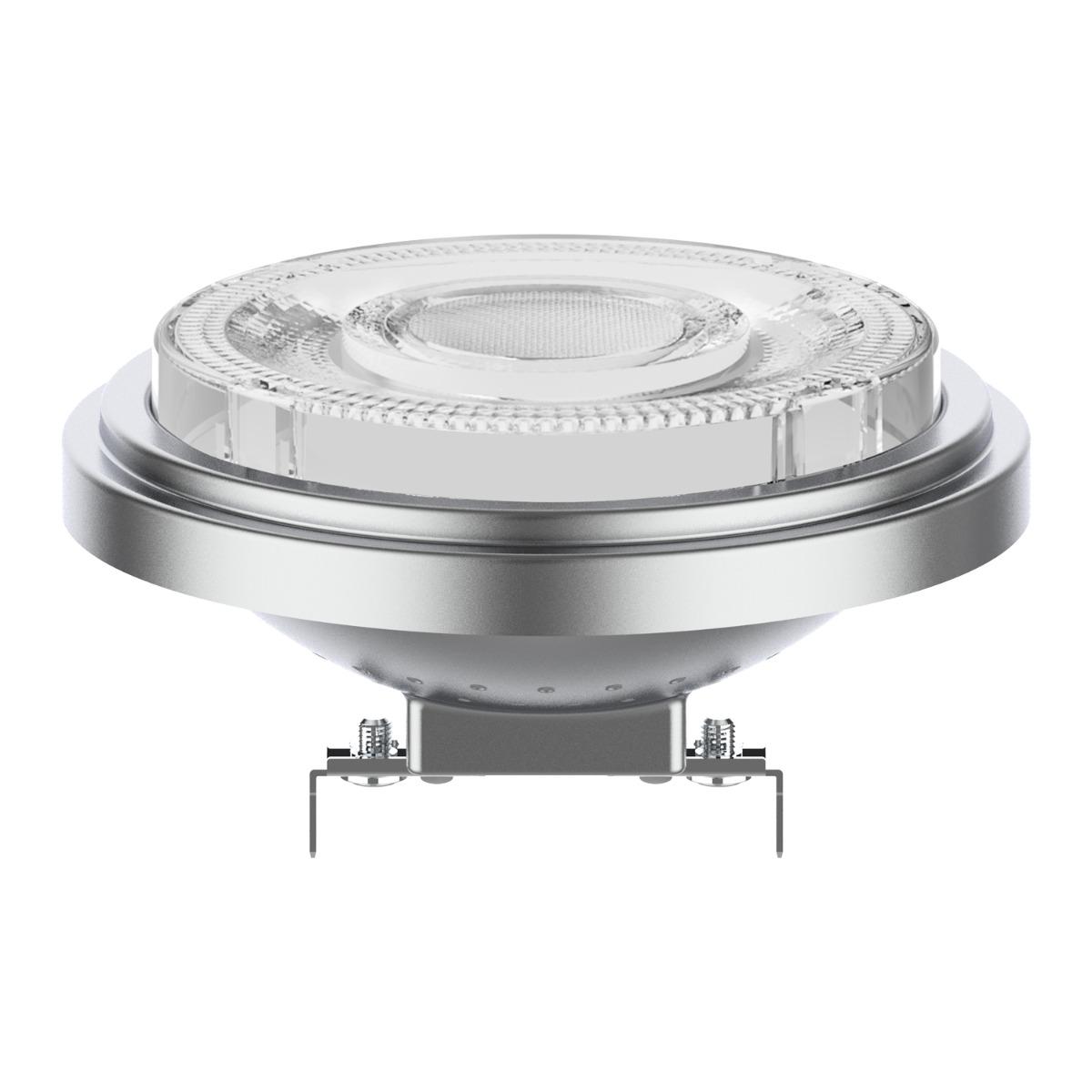 Noxion Lucent LED Spot AR111 G53 12V 7.3W 930 24D | Dimbaar - Beste Kleurweergave - Vervangt 50W