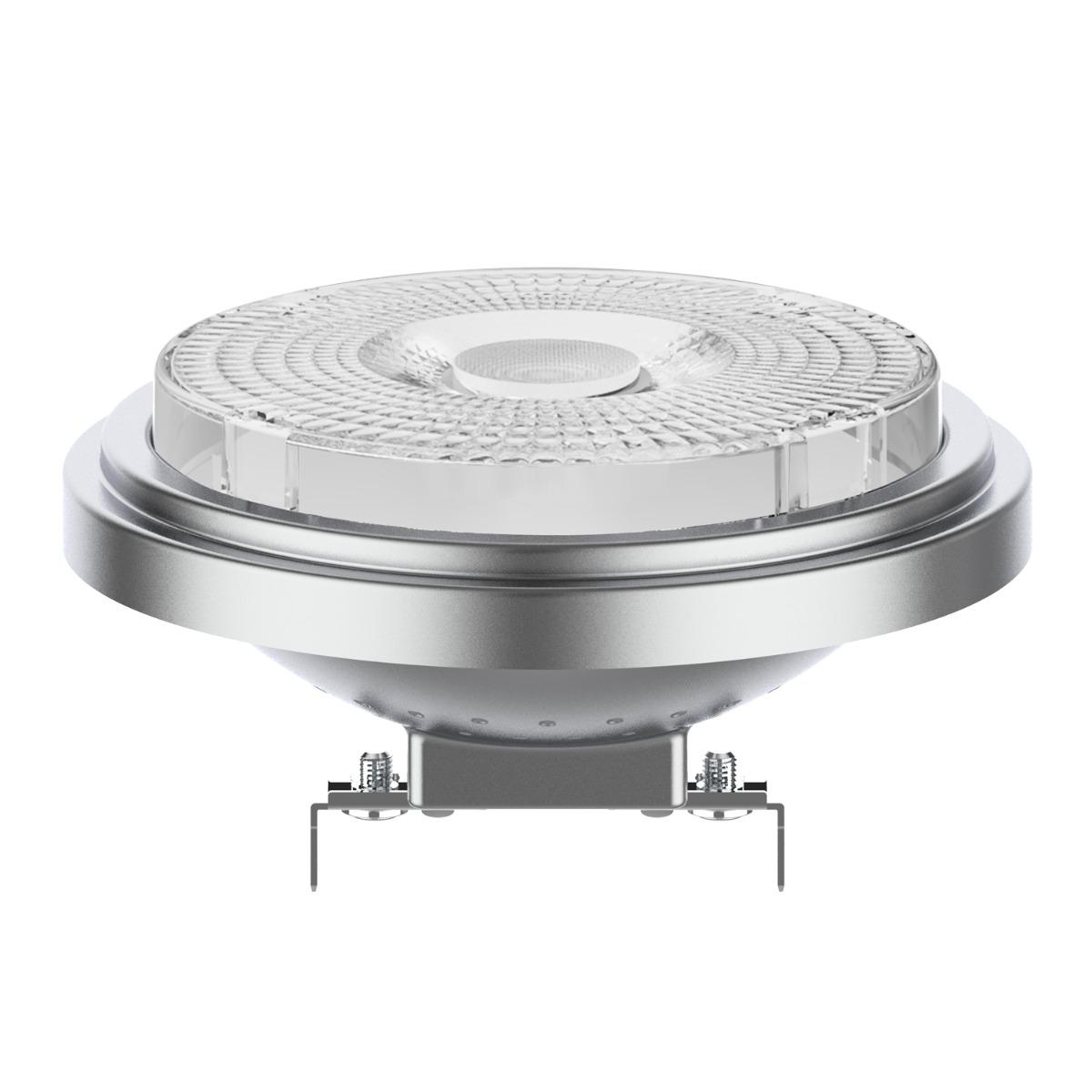 Noxion Lucent LED Spot AR111 G53 12V 7.3W 930 40D | Dimbaar - Beste Kleurweergave - Vervangt 50W