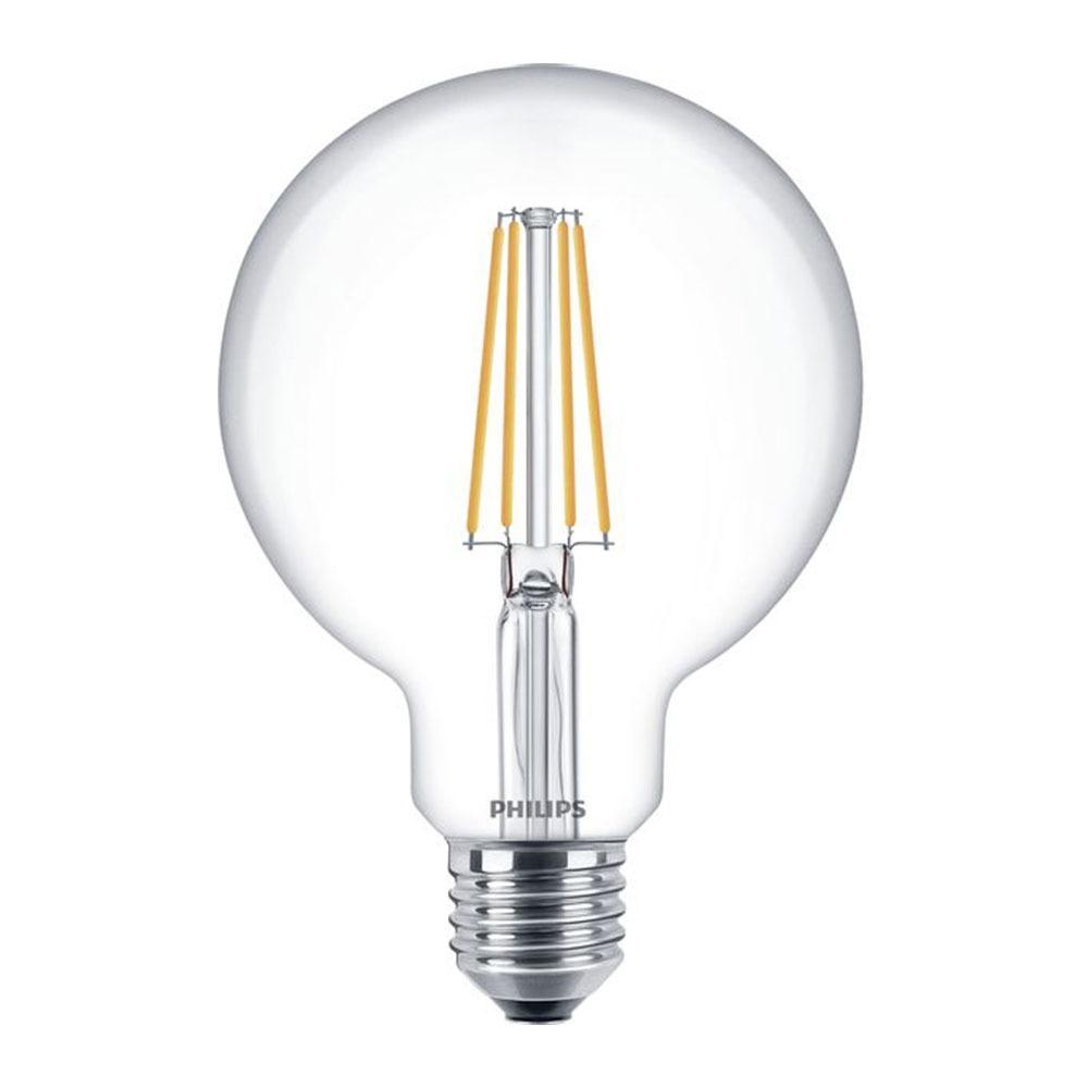 Philips Classic LEDglobe E27 G93 7W 827 Helder | Vervangt 60W