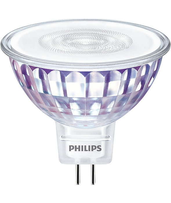 Philips LEDspot VLE GU5.3 MR16 7W 840 60D (MASTER) | Koel Wit - Dimbaar - Vervangt 50W