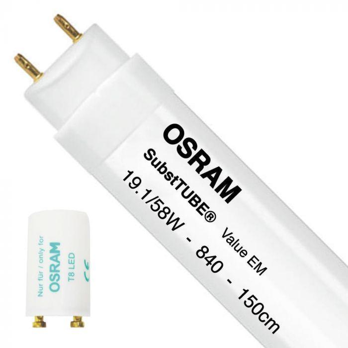 Blanco Osram SubstiTube Value Tubo Led G13 8.9 W