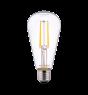 Noxion Lucent Classic LED Kooldraad ST64 E27 6.5W 827 Helder | Vervanger voor 60W