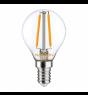 Noxion Lucent LED Lustre E14 2.5W 827 Fadenlampe | Dimmbar - Ersatz für 25W