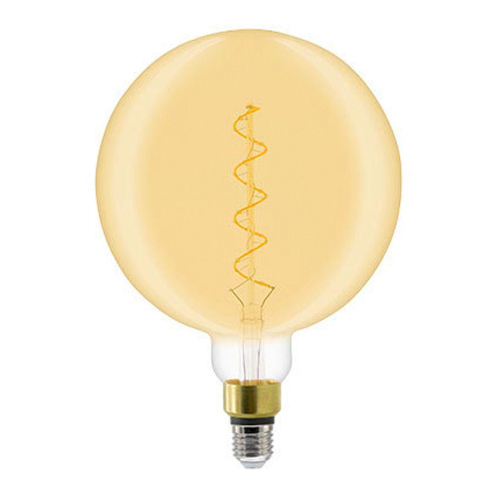 General Electric Heliax LED E27 Globe G200 6W 820 Filament | Extra Warmweiß - Dimmbar - Ersetzt 50W