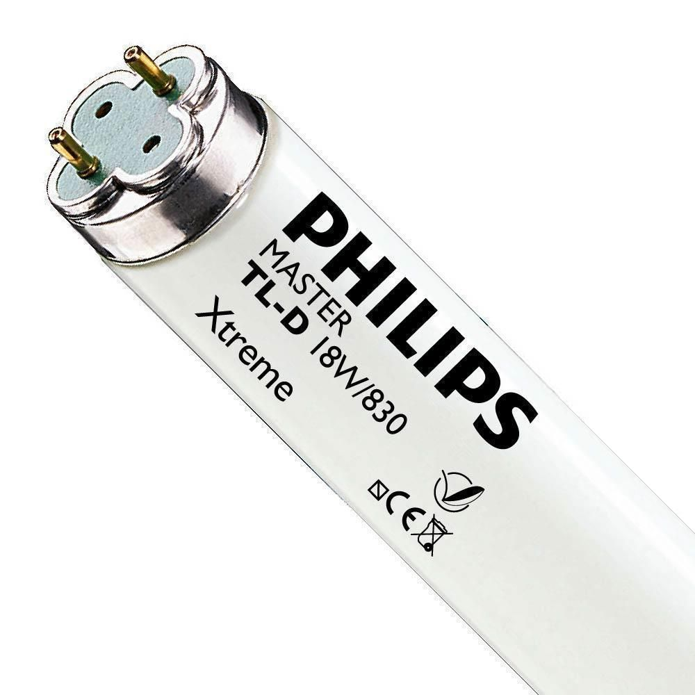 Philips TL-D Xtreme 18W 830 (MASTER) | 59cm - Blanc Chaud