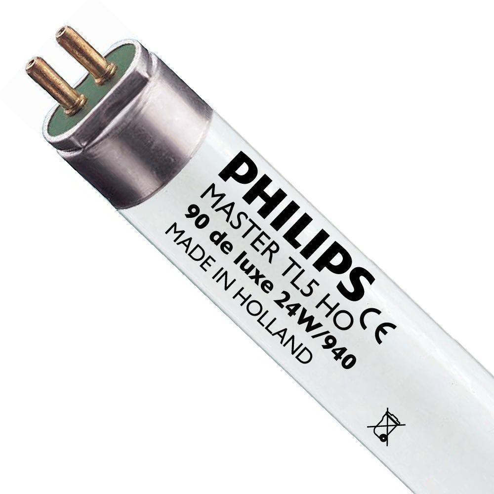 Philips TL5 HO 90 De Luxe 24W 940 (MASTER) | 55cm - kold hvid
