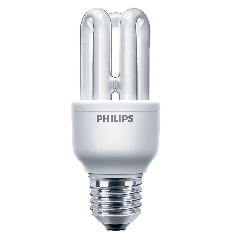 Philips Genie ESaver 8W 827 E27 | Blanc Très Chaud