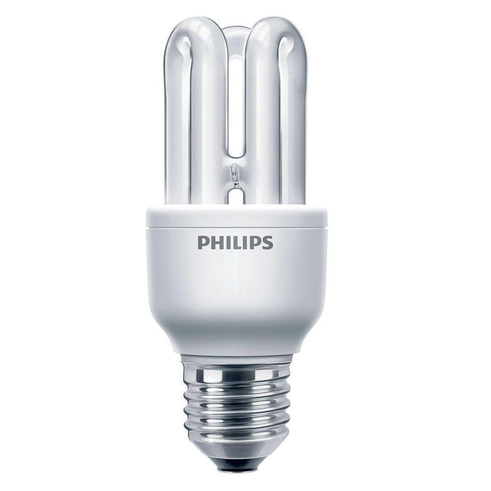 Philips Genie ESaver 8W 827 E27 | ekstra varm hvid