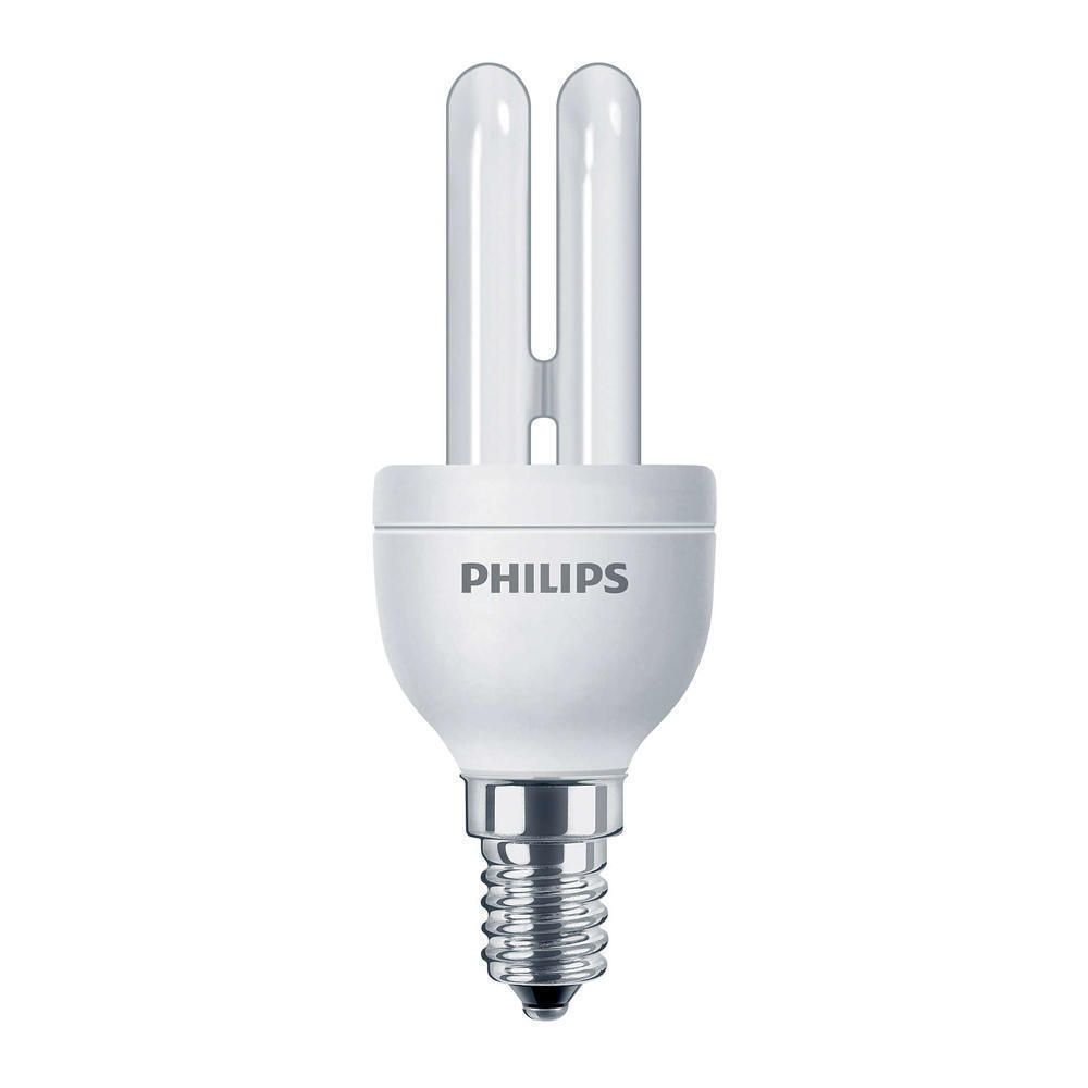 Philips Genie ESaver 5W 827 E14 | Luz muy Cálida