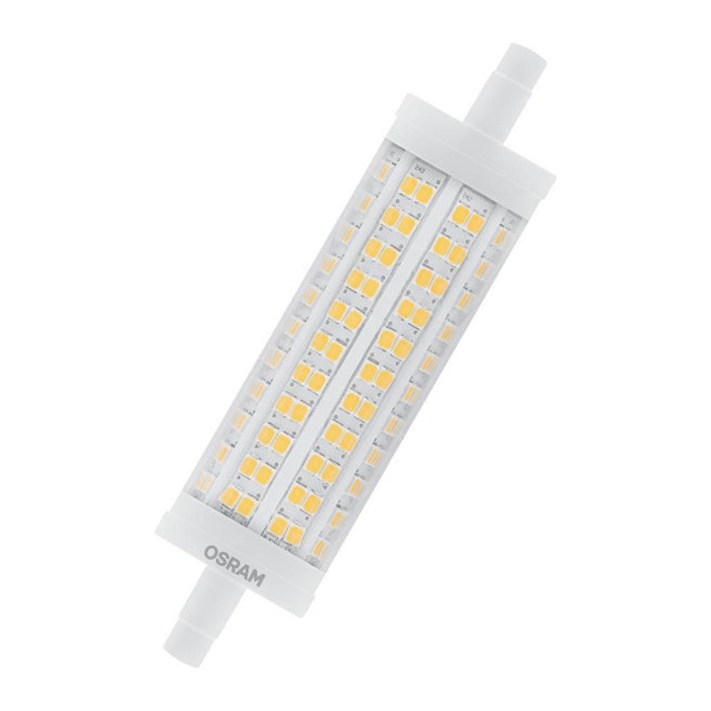 Osram Parathom Line R7s 118mm 17.5W 827 | Extra Luz Cálida - Reemplazo 150W