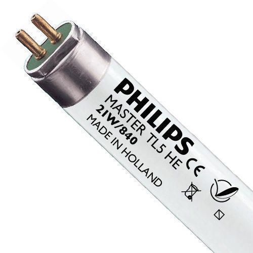 Philips TL5 HE 21W 840 (MASTER) | 85cm - kold hvid