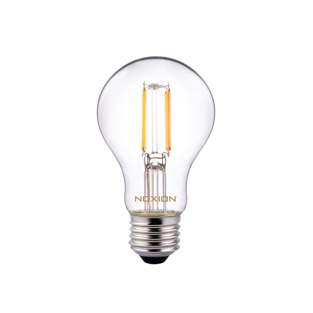 Noxion Lucent Classic LED Filament A60 E27 5W 822-827 Clear | Dimmable - Extra Warm White - Replaces 40W