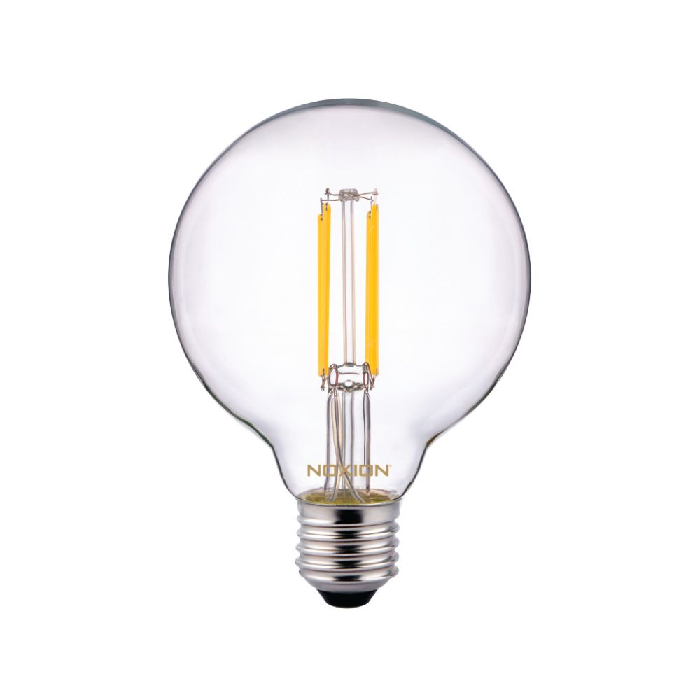 Noxion PRO LED Globe Classic Filament G95 E27 8W 827 Clear | Extra Warm White - Dimmable - Replaces 60W