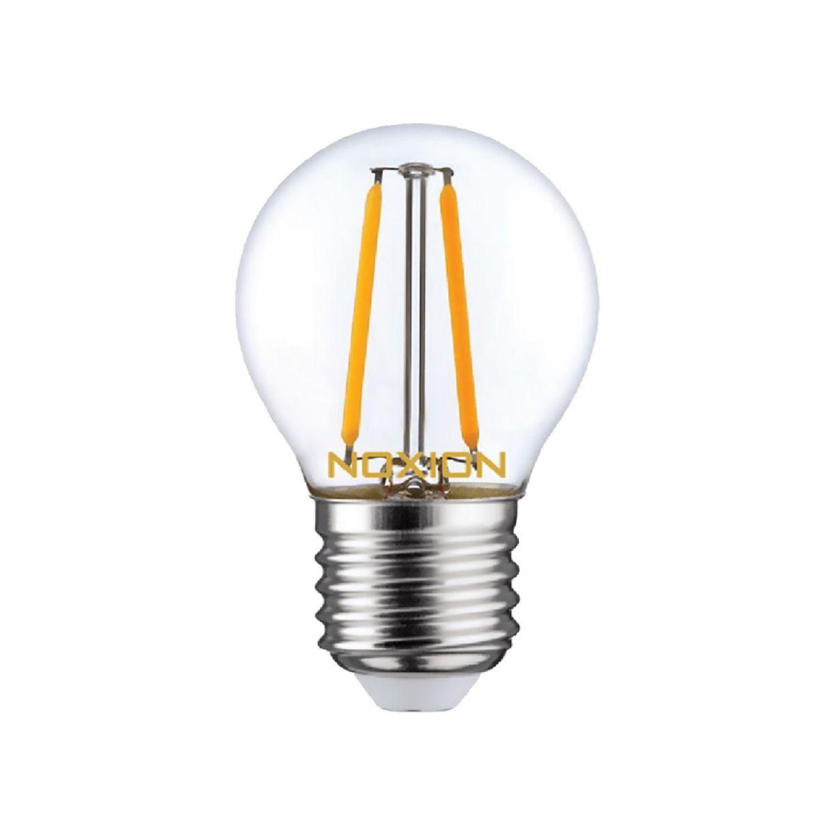 Noxion Lucent LED Lustre E27 2.6W 827 Filament | Extra Warm White - Replaces 25W