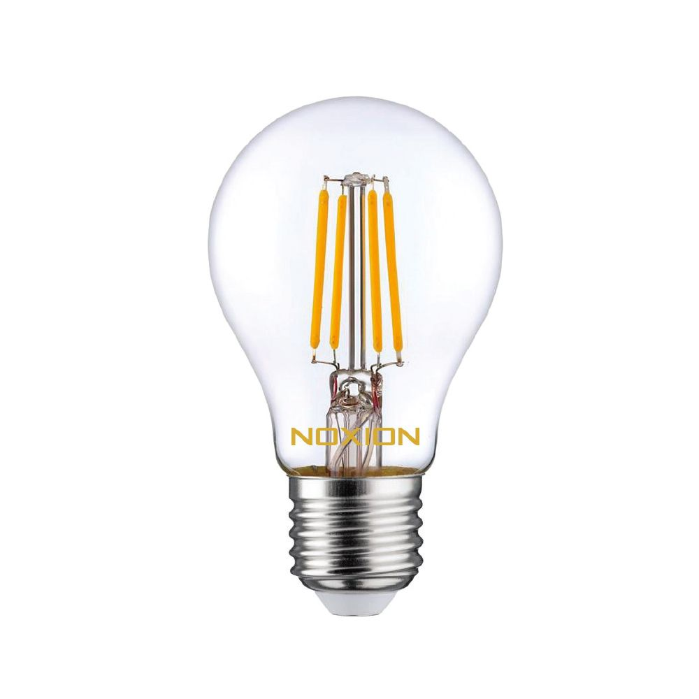 Noxion Lucent Filament LED Bulb 7W 827 A60 E27 Clear | Dimmable - Replacer for 60W