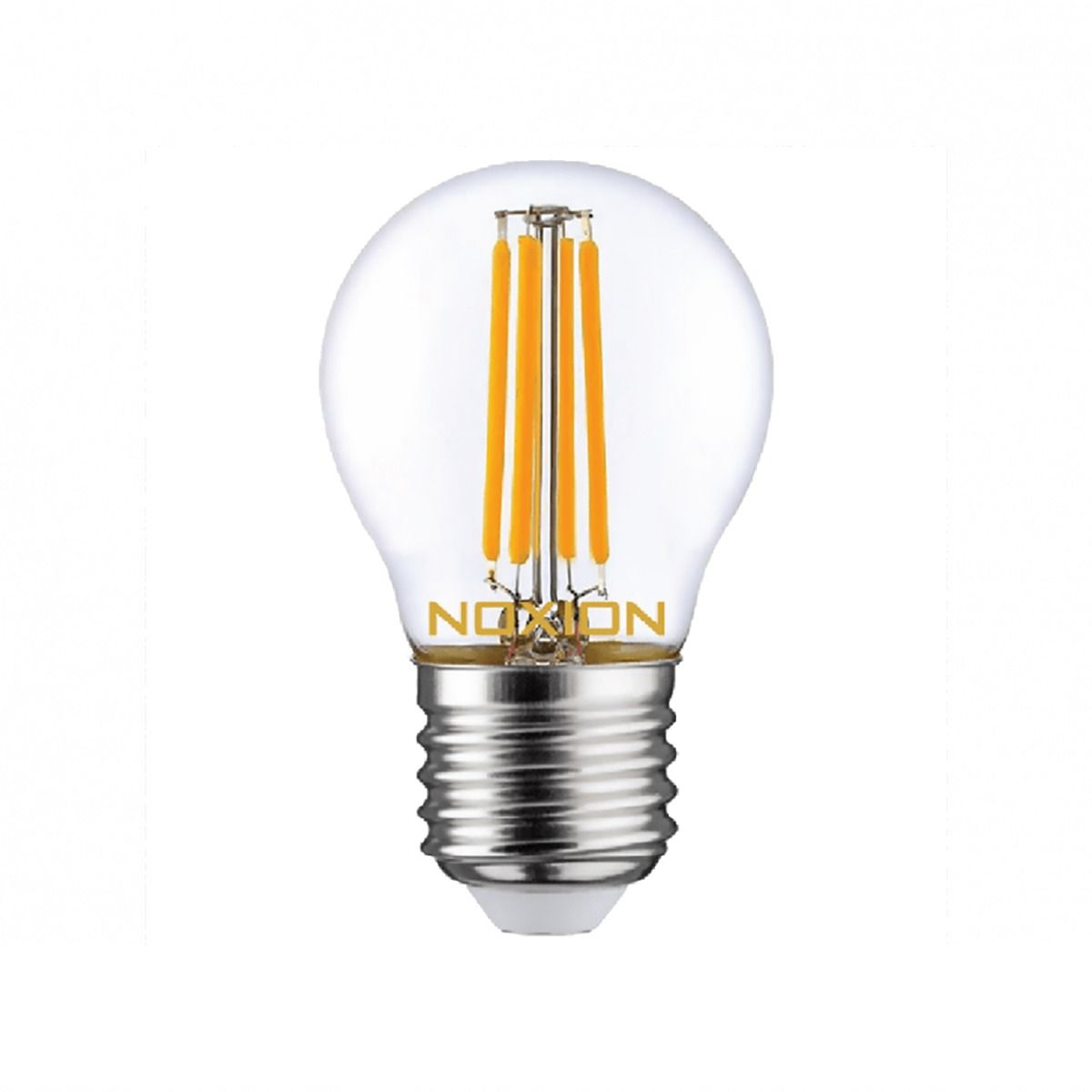 Noxion Lucent Filament LED Lustre 4.5W 827 P45 E27 Clear | Extra Warm White - Replaces 40W