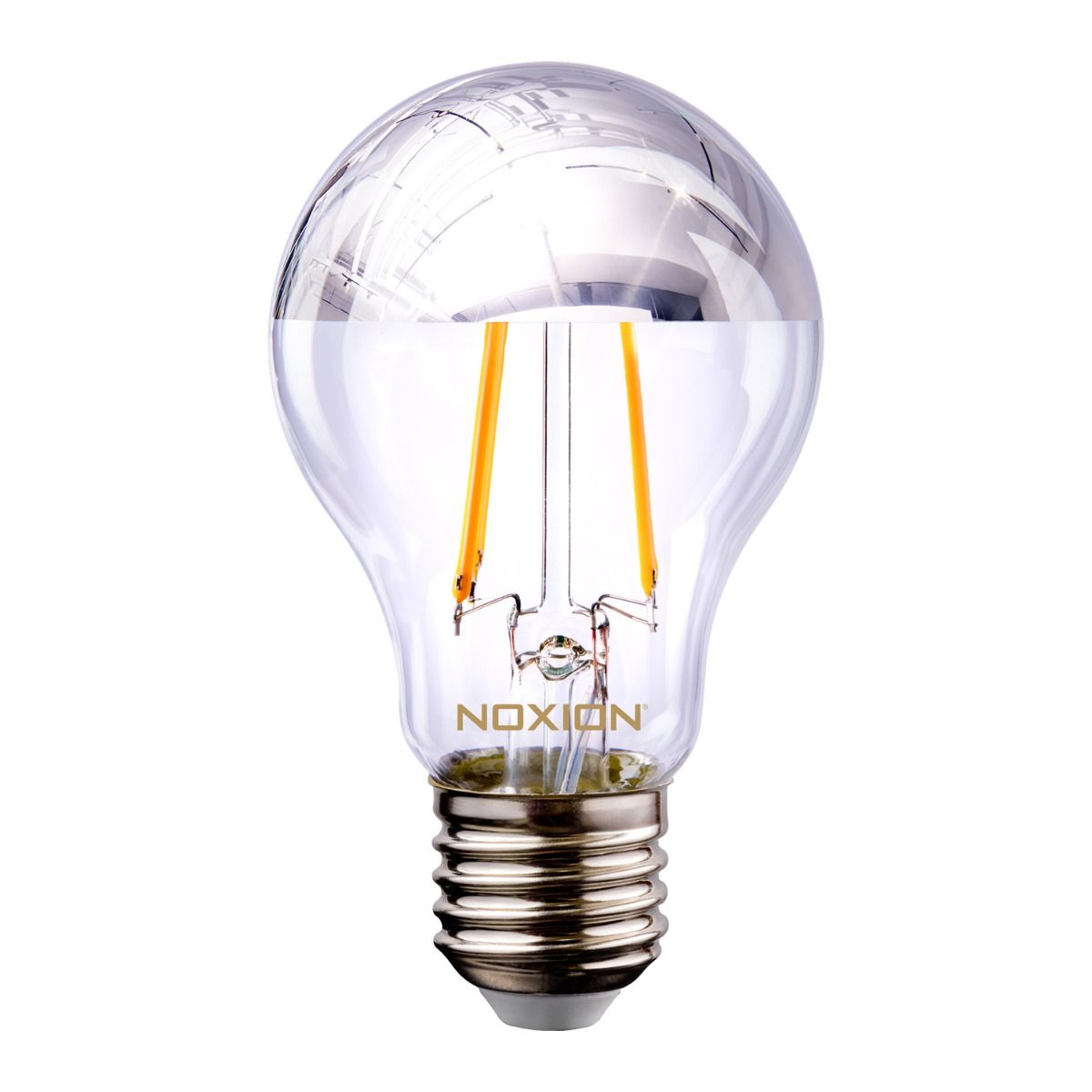 Noxion Lucent Gloeilamp LED Bulb Zilver Kopspiegel A60 E27 220-240V 7W 680LM CRI80 2700K ND (60W eqv.)
