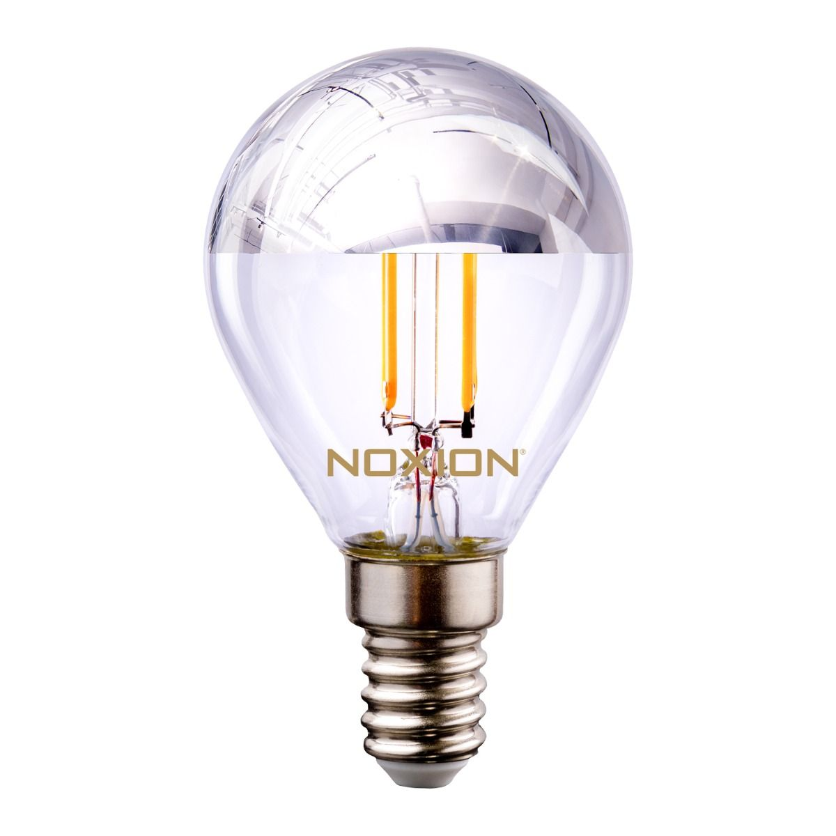 Noxion Lucent Filament LED Lustre hopea Mirror P45 E14 220-240V 4.5W 400LM CRI80 2700K ND (40W eqv)