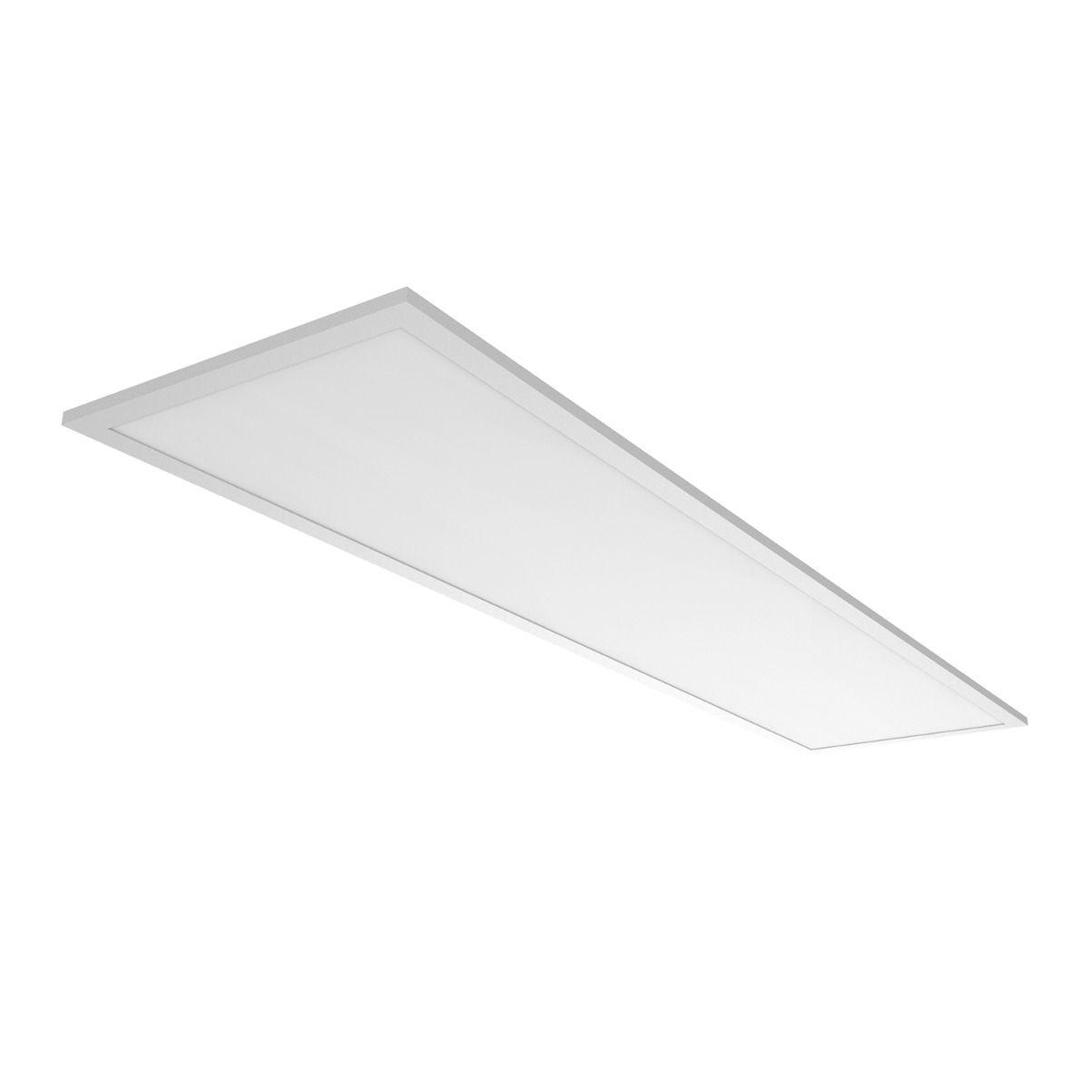 Noxion Panneau LED Delta Pro V3 30W 3000K 3960lm 30x120cm UGR <22   Blanc Chaud - Substitut 2x36W