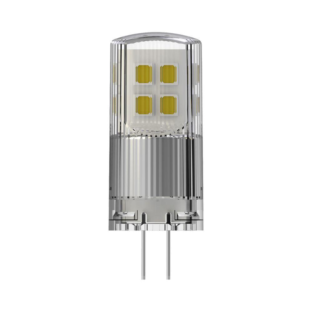 Noxion LED Bolt G4 2W 827 12V   Dimbar - Extra Varm Vit - Ersättare 21W