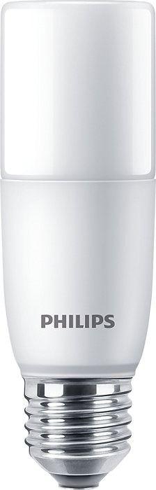 Philips Ampoule LED CorePro Stick E27 9.5W 840 Dépolie | Blanc Froid - Equivalent 75W
